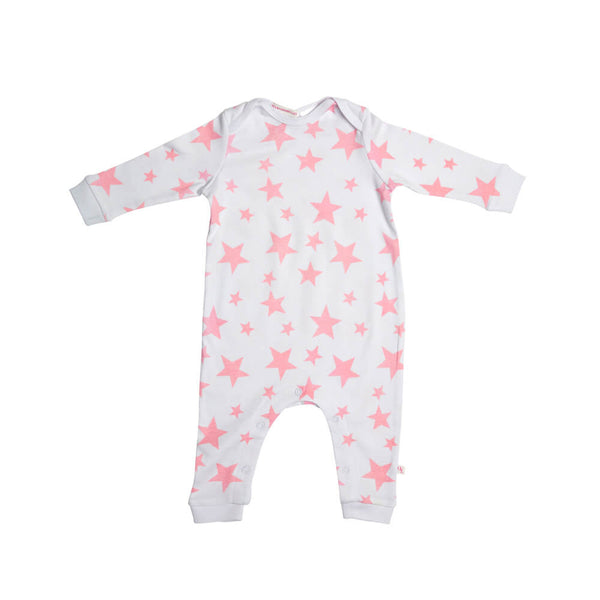Pink Star Romper Huckleberry Lane