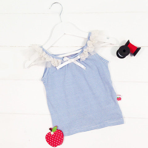Paris Singlet 2 / French Blue Oobi - 1
