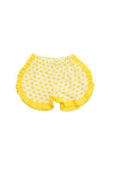 Flamingo Ruffle Shorts 2 / Yellow Hide & SEEK - 2