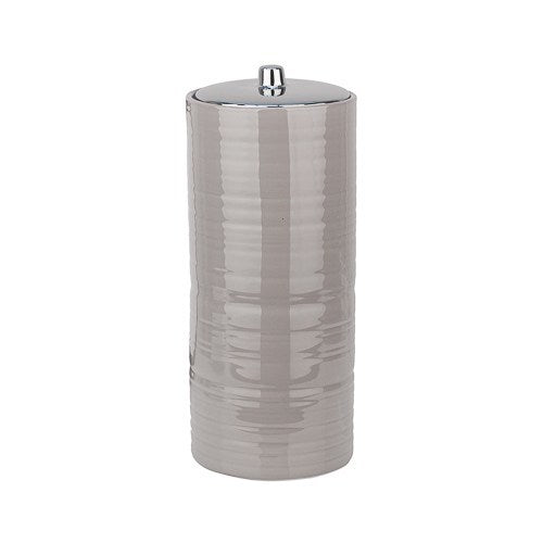 Hush Ceramic Toilet Roll Canister