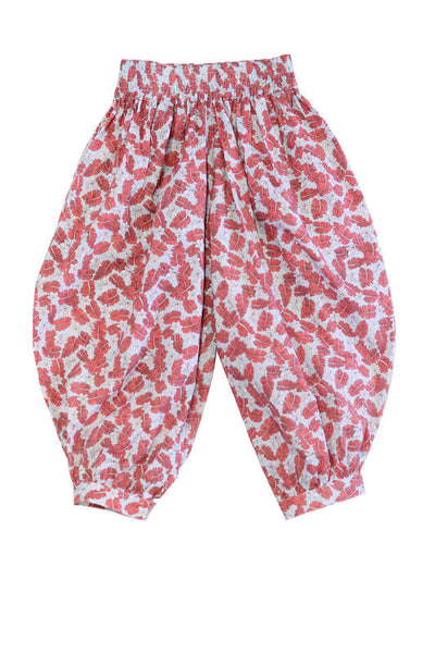 Harem Pants 6 / Coral Hide & SEEK - 1