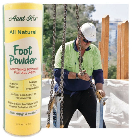 Aunt K's All-Natural Foot Powder