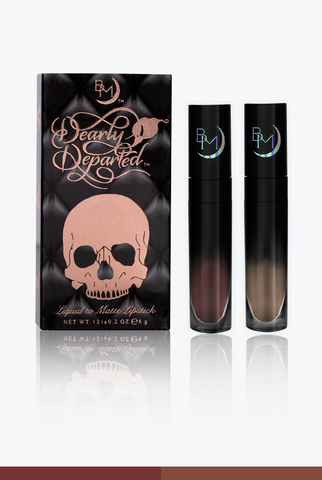 Dearly Departed™ - Liquid to Matte Lipstick Duo