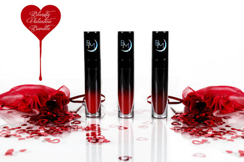 Bloody Valentine Bundle - Liquid to Matte Lipstick