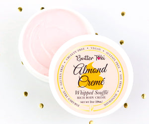ALMOND CREME Whipped Soufflé Rich Body Cremé - Botanically Infused Body Butter