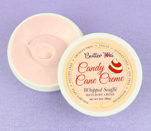 CANDY CANE CREME Whipped Soufflé Rich Body Cremé - Winter Collection - CLEARANCE