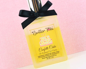 CONFETTI CAKE Fragrance Oil Based Perfume 1oz Atomizer Spray