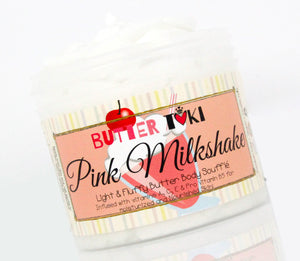 PINK MILKSHAKE Body Butter Soufflé 4oz - Clearance