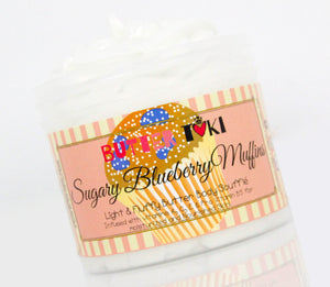 SUGARY BLUEBERRY MUFFINS Body Butter Soufflé 4oz - Clearance