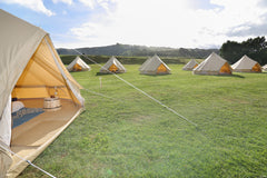 Taylor and Bell Tents GLAMPING at Rathmoy Lodge