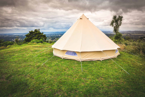 5M bell tent exterior