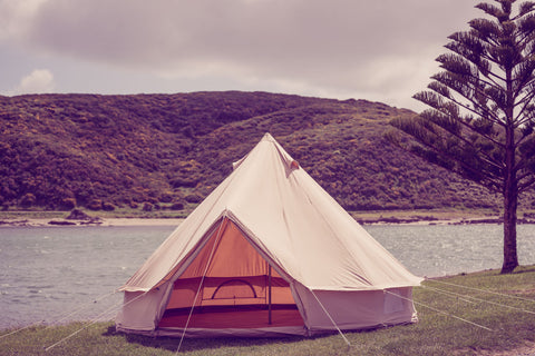 4M glamping bell tent