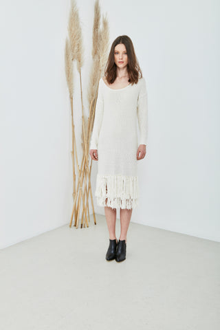 Sheila Dress in Ivory