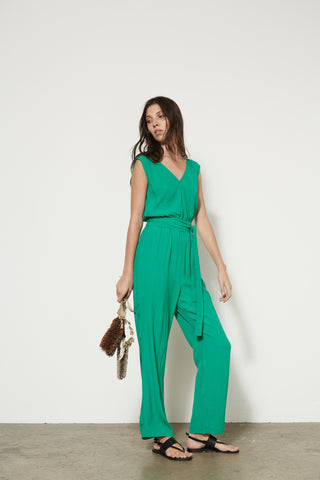 Kyoto Jumpsuit in Green or Black