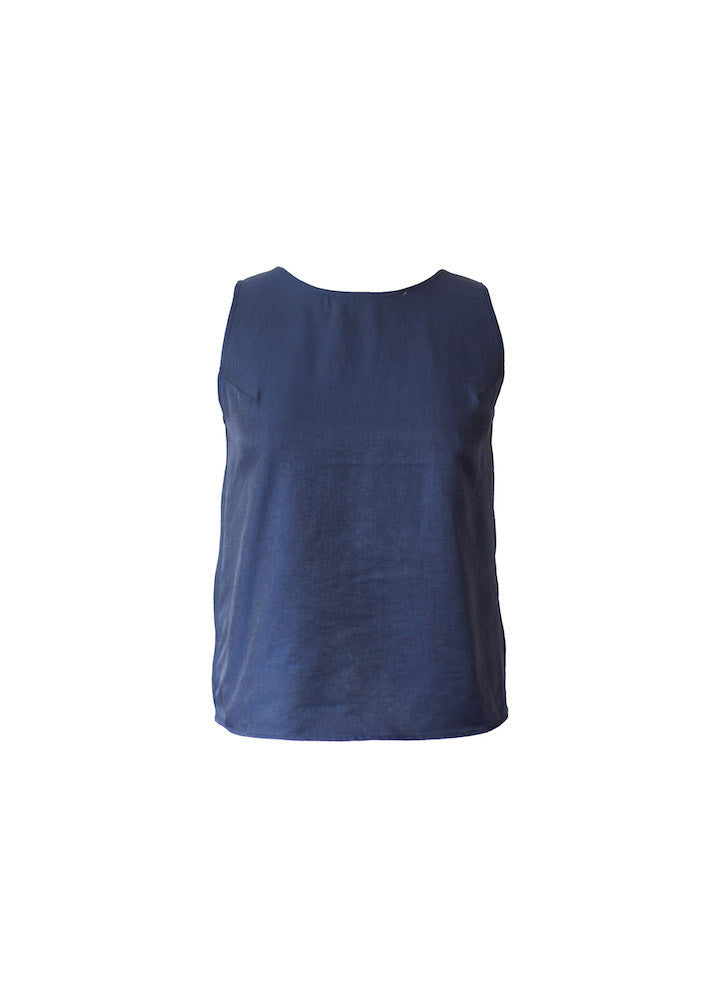 Lola tank top in navy