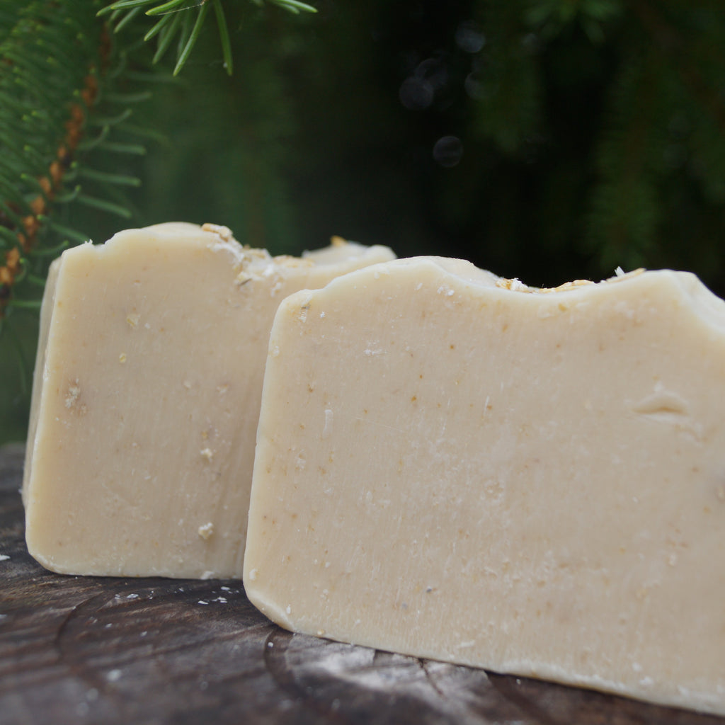 Handcrafted Oat Body Cleansing Soap