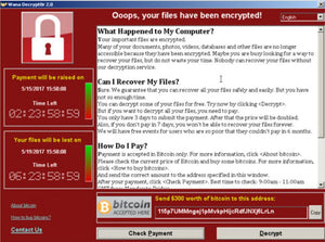 Wannacry Ransomeware Advisory