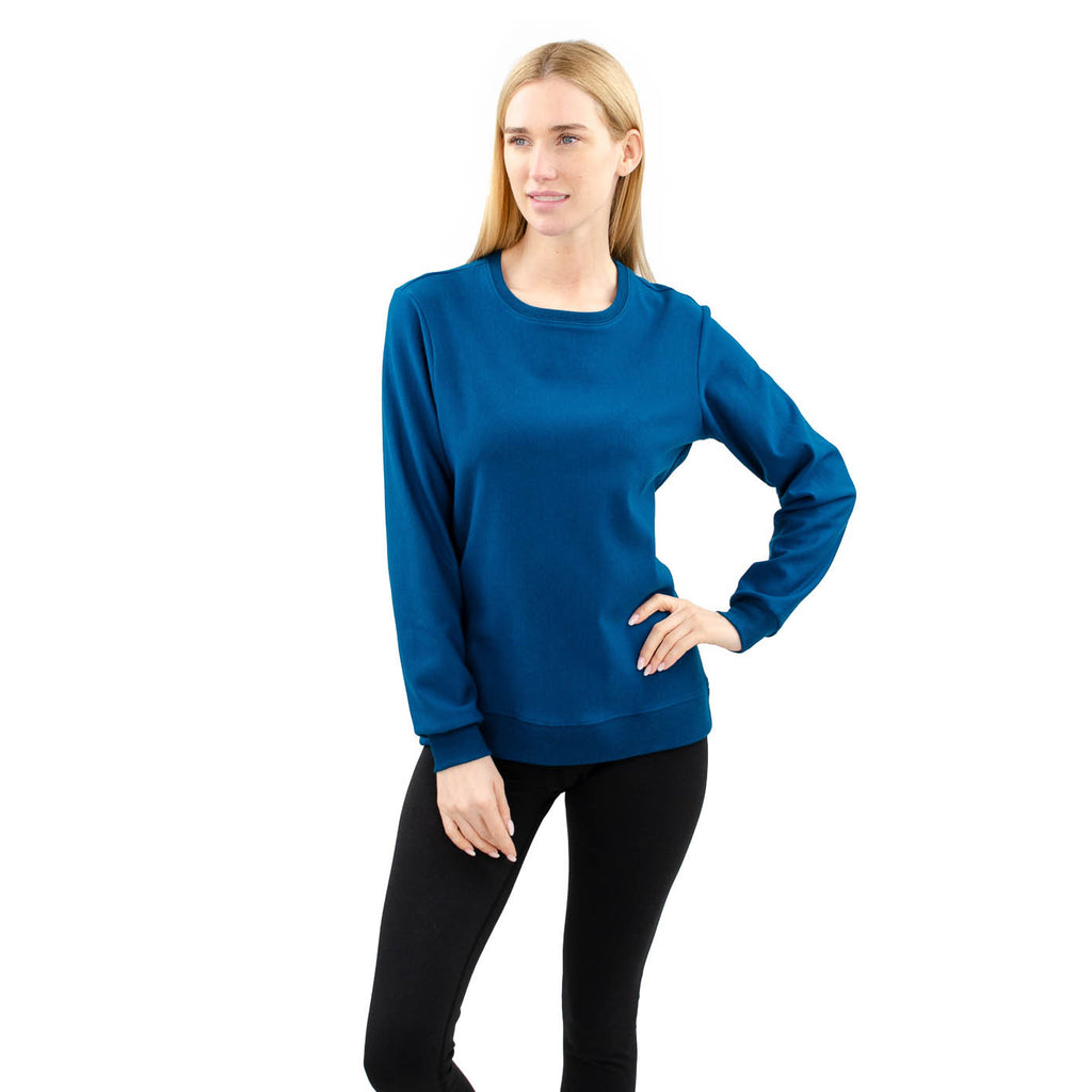 Cloutier - womens - crewneck - sweater - moroccan