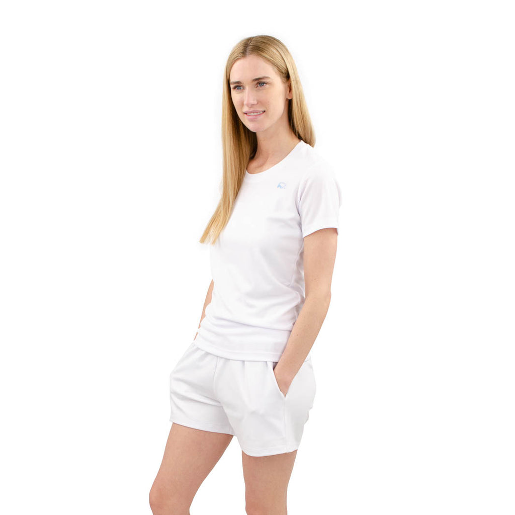 banff athletica - womens - t-shirt - white