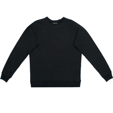 Cloutier - mens - crewneck - sweater - black