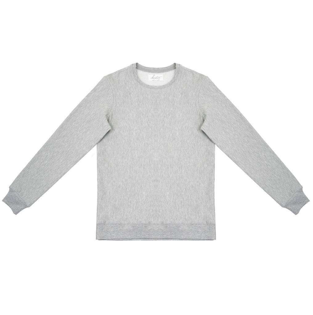 Cloutier - womens - crewneck - sweater - grey
