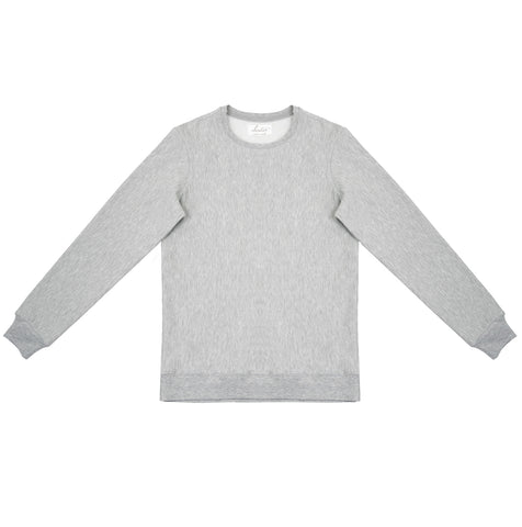 Cloutier - mens - crewneck - sweater - grey