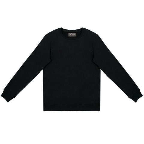 Cloutier - womens - crewneck - sweater - black