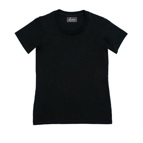 Cloutier - womens - t-shirt - black