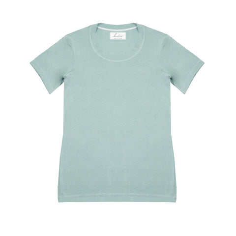 Cloutier - womens - t-shirt - green mist