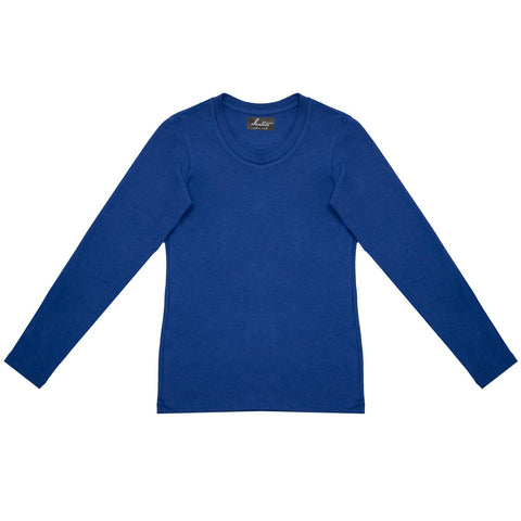 Cloutier - womens - long sleeve - shirt - blue