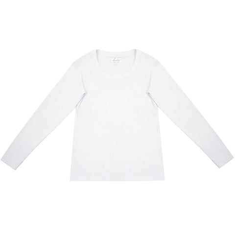 Cloutier - womens - long sleeve - shirt - white