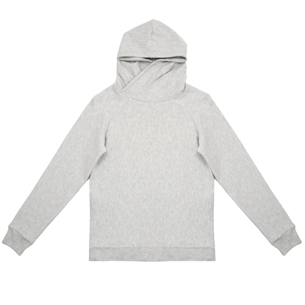 Cloutier - womens - hoodie - grey