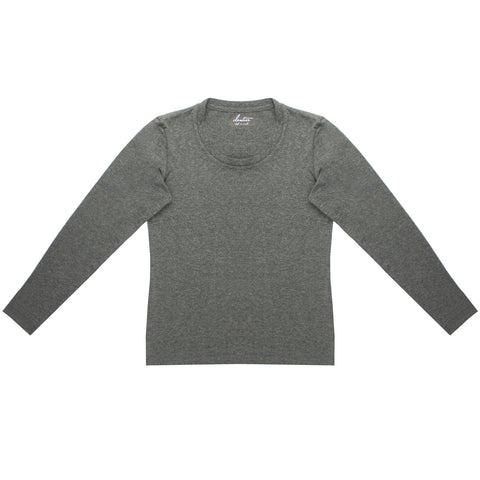 Cloutier - womens - long sleeve - shirt - grey