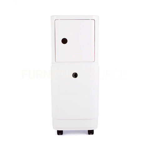Pull Drawer Componibili Large Storage Unit On Castors Anna Ferrie Style - White , Componibili - FSWorldwide, FSWorldwide  - 1