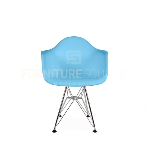 Kids - DAR Plastic Lounge Dining Chair Eames Style - Blue , Chair - FSWorldwide, FSWorldwide  - 1