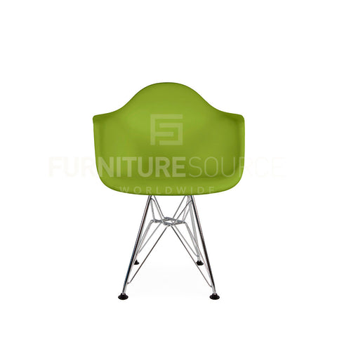 Kids - DAR Plastic Lounge Dining Chair Eames Style - Green , Chair - FSWorldwide, FSWorldwide  - 1