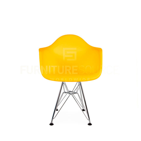 Kids - DAR Plastic Lounge Dining Chair Eames Style - Yellow , Chair - FSWorldwide, FSWorldwide  - 1