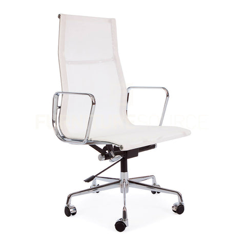 Mesh Ergo Sling Type High Back Management Office Chair Eames Style ...