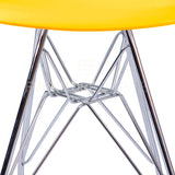 Kids DSR Eiffel Dining Lounge Midcentury Modern Shell Chair Eames Style - Yellow , Kids Chairs - FSWorldwide, FSWorldwide  - 2