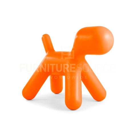 Kids Large Puppy Toy Chair, Eero Aarnio  Style - Orange , Kids Chairs - FSWorldwide, FSWorldwide  - 1