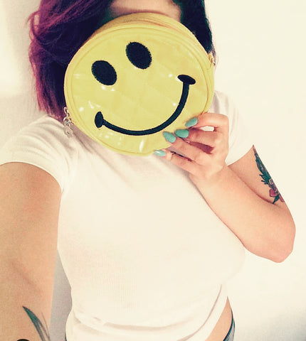 Smiley Face Bag