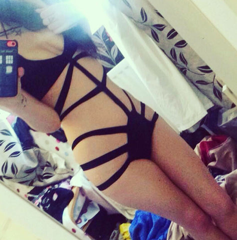 Strappy Swimsuit