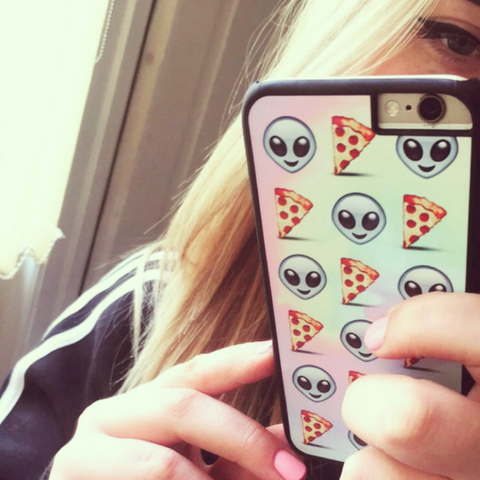 Alien Pizza Phone Case