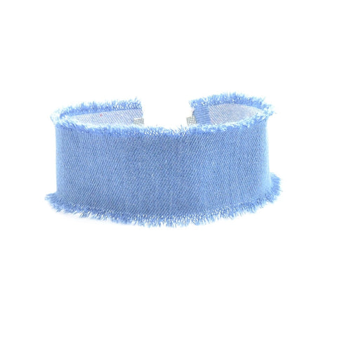Denim Baby Neck Wrap Choker