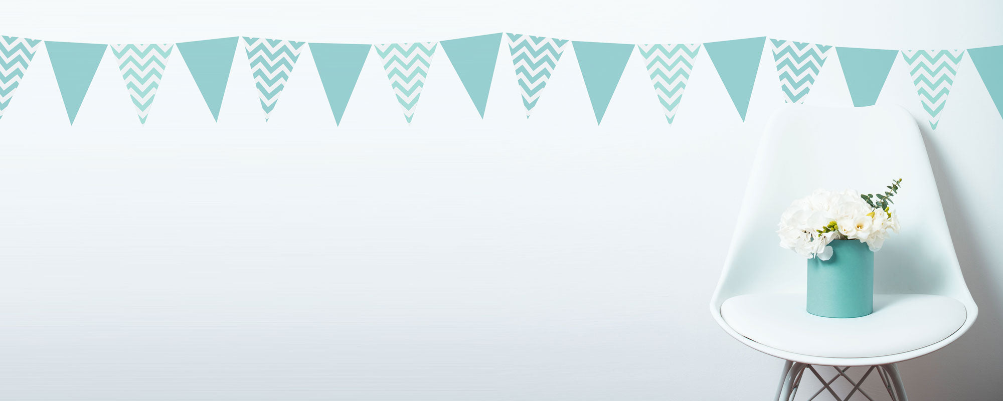 bunting stencils to mix and match from the stencil studio