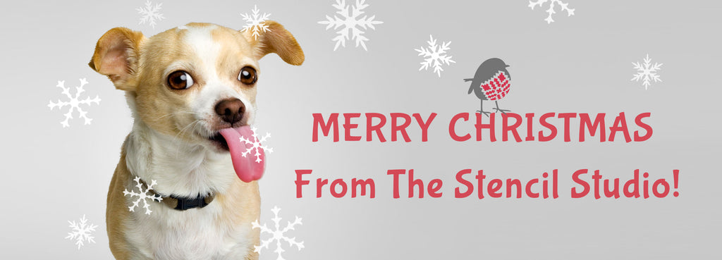 merry christmas from the stencil studio