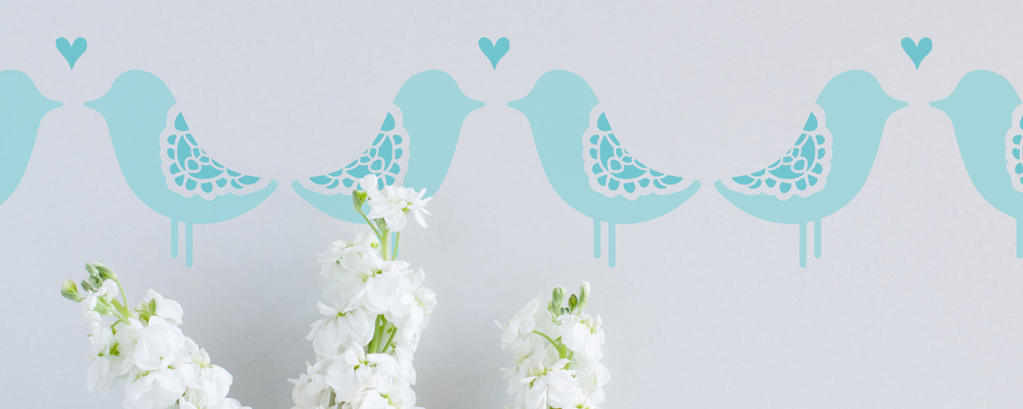 love birds stencil bird and butterfly stencils collection banner