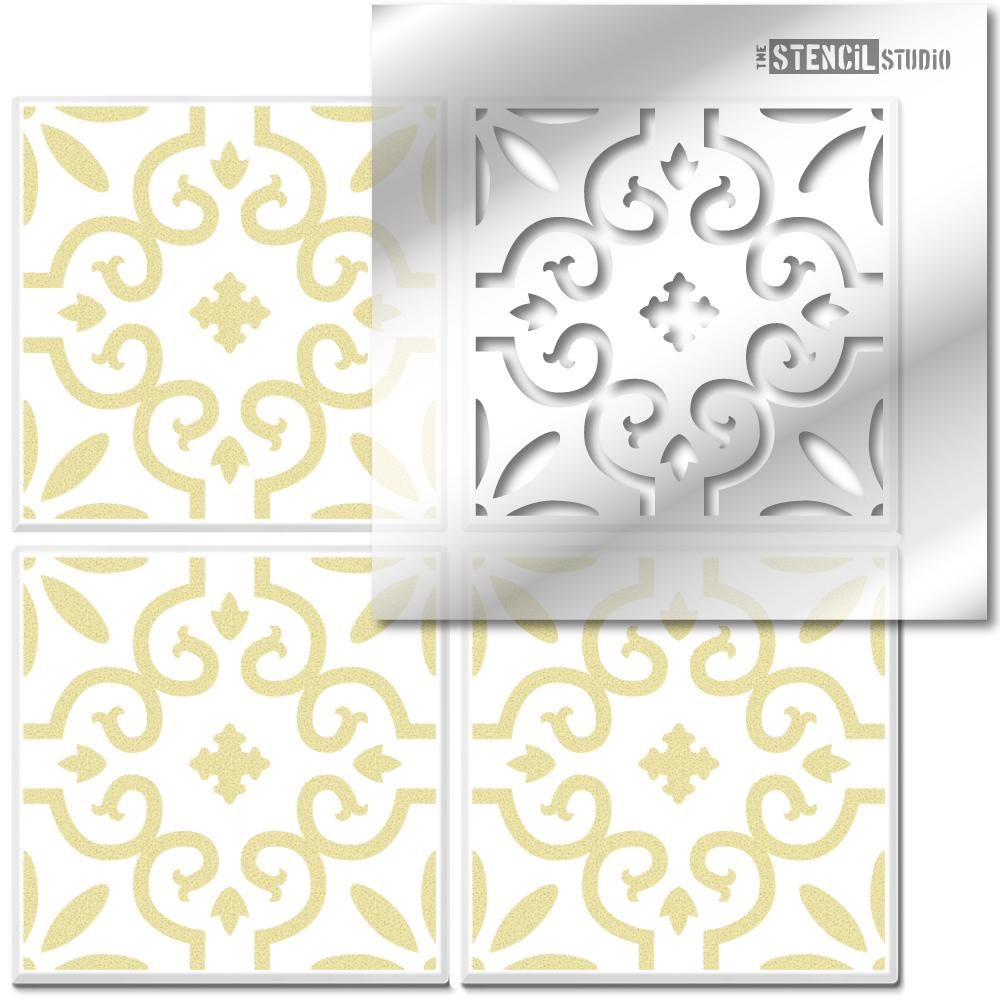 Rissington Tile Stencil