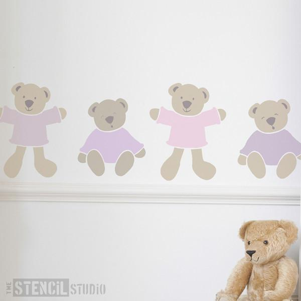The Bears stencil from The Stencil Studio Ltd - Size L