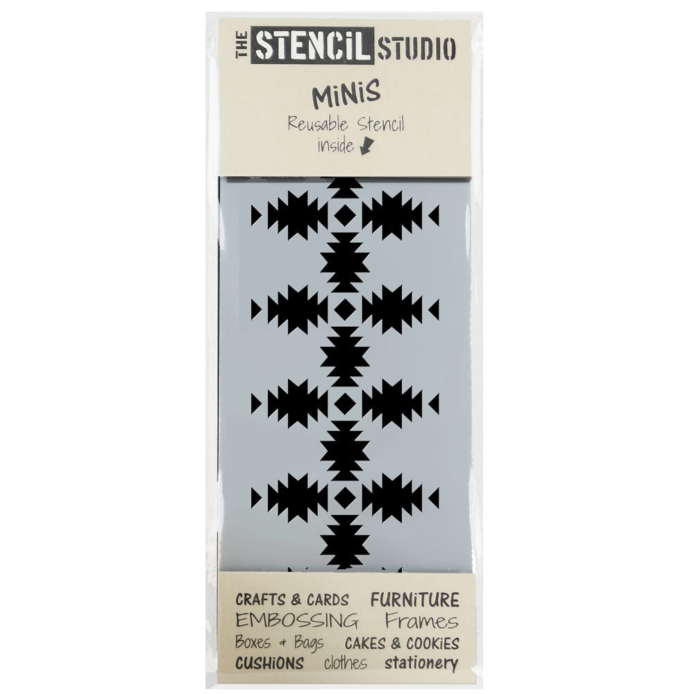 Stencil MiNiS - Sawtooth Star - 20% off 4+